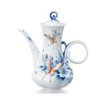ETERNAL LOVE PORCELAIN TEAPOT  *DS*