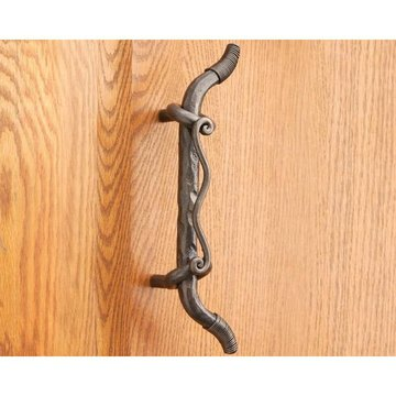 Artesano Iron Works AIW-0022-NI 11 1/4 Inch Natural Iron Door Pull