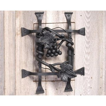 Agave Ironworks Flat Black Grape Speak Easy Grille