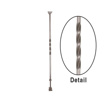 Twist Adjustable Iron Baluster