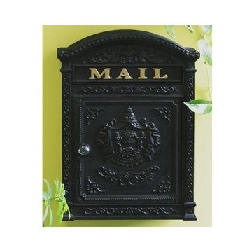 VICTORIAN WALL MOUNT MAIL BOX  *DS*
