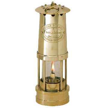 YACHT OIL LAMP-SOLID BRSS