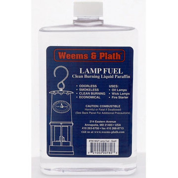 WEEM & PLATH LAMP FUEL *ORMD NO MAIL/AIR*