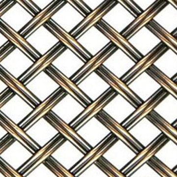 Kent Design DK08 3/8 Flat Fluted Single Crimped Wire Grille 18 x 48