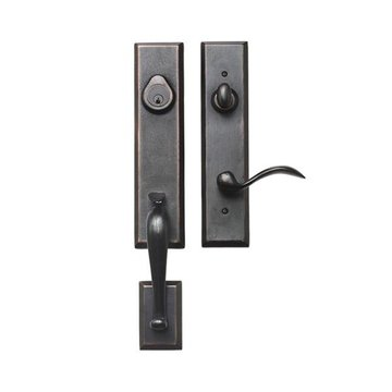 STONEHENGE SANDCAST LEVER TO HANDLE ENTRY SET