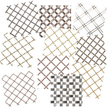Kent Design Decorative Wire Grille Sample Box