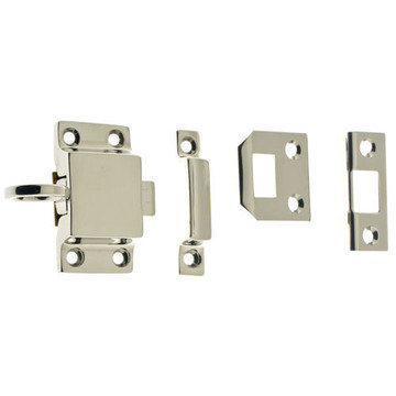 Transom Latch With Three Strike Plates