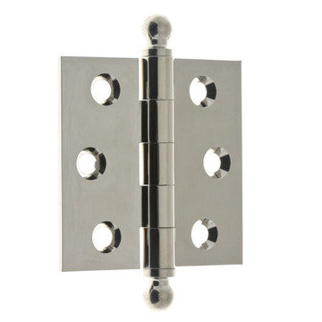 Loose Pin Ball Tip Cabinet Hinges - Pair