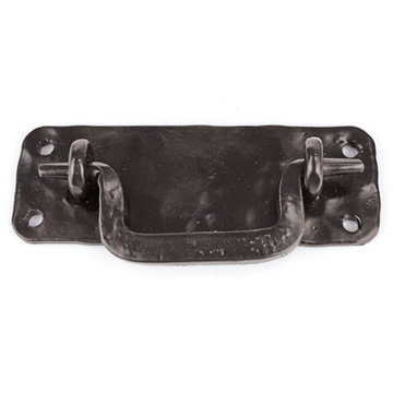 Artesano Iron Works AIW-2005-SB Hammered Matte Black Bail Pull