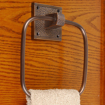 Arts And Crafts Towel Ring