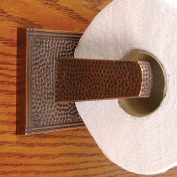 Arts and Crafts Toilet Tissue Holder