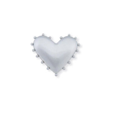 Atlas Homewares Beaded Heart Knob
