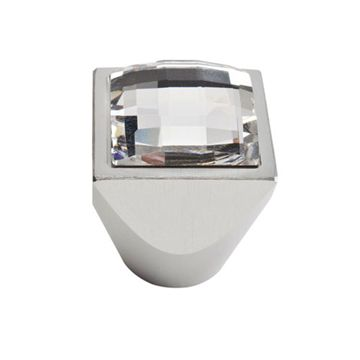 Atlas Homewares Boutique Crystal Large Square Knob