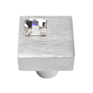 Atlas Homewares Boutique Crystal Off Center Knob
