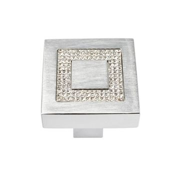 Atlas Homewares Boutique Crystal Square Knob