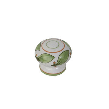 Atlas Homewares Ceramic Deruta Knob