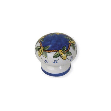 Atlas Homewares Ceramic Elba Lemon Knob