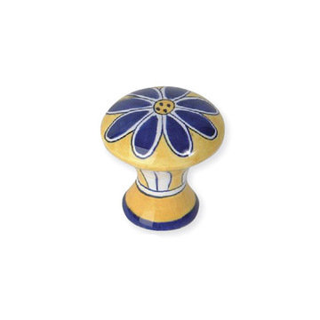 Atlas Homewares Ceramic Flower Knob