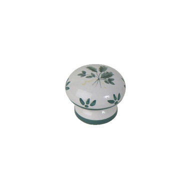 Atlas Homewares Ceramic Mt Oliveto Knob