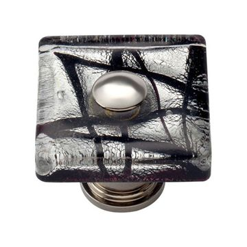 Atlas Homewares Glass Eclipse Knob