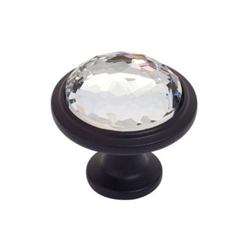 Atlas Homewares Legacy Crystal Round Knob