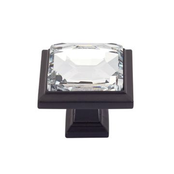 Atlas Homewares Legacy Crystal Square Knob