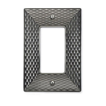 Atlas Homewares Mandalay Switchplate