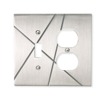 Atlas Homewares Modernist Switchplate