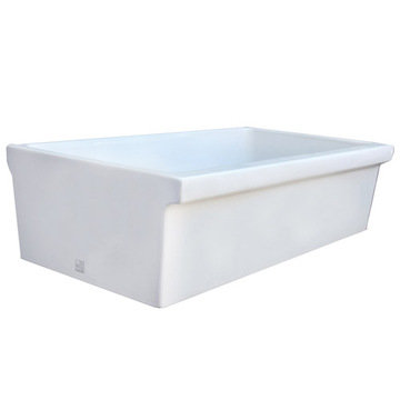 36 Quatro Alcove Reversible Fireclay Farmhouse Kitchen Sink