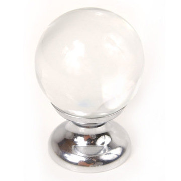 Small Round Glass Knob