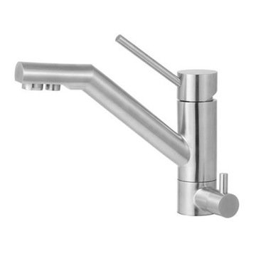 Solid Stainless Steel Kitchen Faucet With Built In Water Dispenser