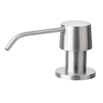Solid Stainless Steel Modern Soap Dispenser