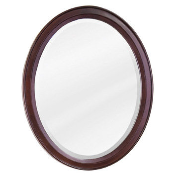 Lyn Designs Modern Oval Mirror