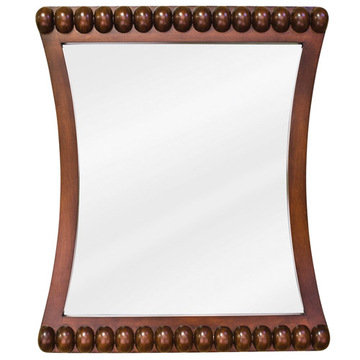 Lyn Designs Rosewood Beaded Mirror