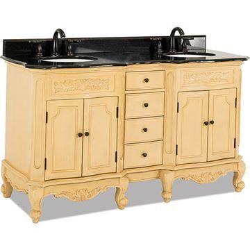 Bath Elements 60 Clairemont Double Vanity