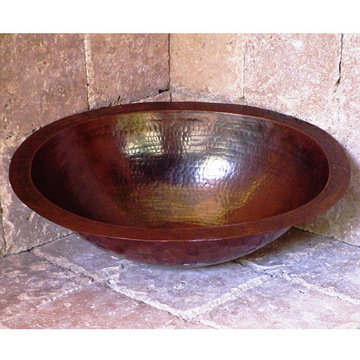 Wind River Oval Copper Sink