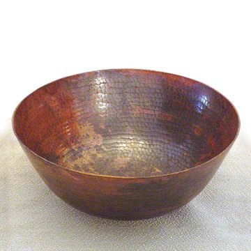 Wind River 13 Inch Sierra Copper Vessel Sink