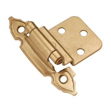 Belwith Keeler 3/8 Inch Offset Self Closing Decorative Cabinet Hinge - Pair