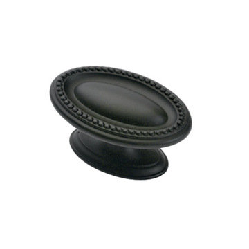 Hickory Hardware Altair Beaded Oval Knob