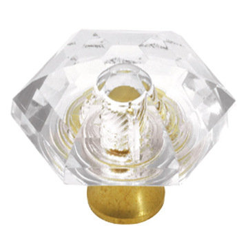 Hickory Hardware Crystal Palace Hexagon Knob