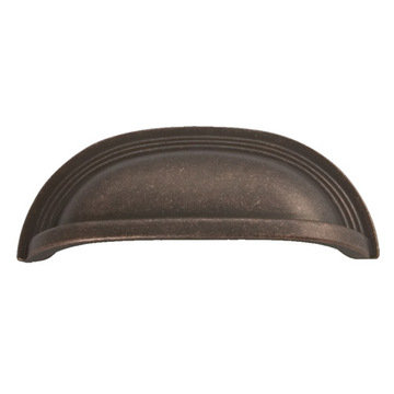 Hickory Hardware Deco Cup Bin Pull
