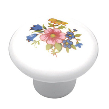 Belwith Keeler English Cozy Bouquet Knob