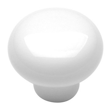 Hickory Hardware English Cozy Round Porcelain Knob