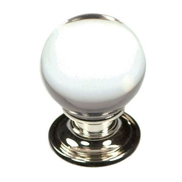 Belwith-Keeler Luster Glass Ball Knob