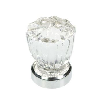 Belwith-Keeler Luster Glass Fluted Knob