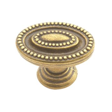 Belwith Keeler Manor House Beaded Oval Knob