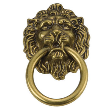 Hickory Hardware Manor House Lion Ring Pull