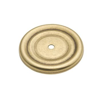 Hickory Hardware Manor House Round Backplate