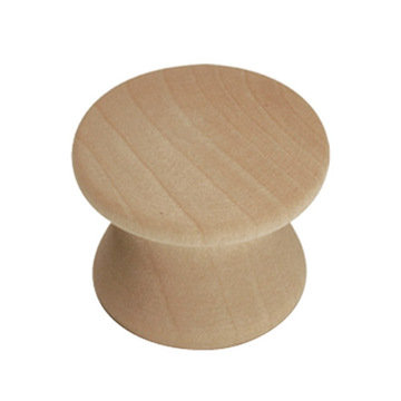 Belwith Keeler Natural Woodcraft Concave Knob - Pair