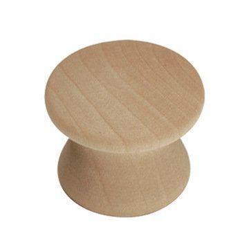 Hickory Hardware Natural Woodcraft Knob - Pair